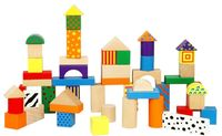Viga 50pcs Colorful Block Set (59695)