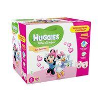 Scutece Huggies Ultra Comfort  4  (8-14 kg) Disney BOX  126 buc. GIRL
