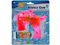 Набор пистолет с мыльными пузырями