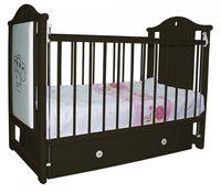 Кроватка деревянная Bambini LEATHER CARTOON