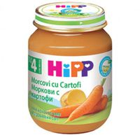 Hipp пюре морковь с картофелем 4+мес. 125г