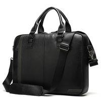Кожаный портфель для бизнеса , мужские портфели из натуральной кожи, сумка для ноутбука, 14,