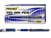 Ручка гелевая PT-117 0.5mm, синяя (1/12)