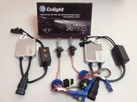 Комплект Xenon CnLight Small  (AC 9V-16V) + лампы CnLight HLB +50% Brightness