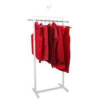 cumpără Cuier pentru haine cu două ramuri din oţel, 550x550x1200/1800 mm (9001) în Chișinău