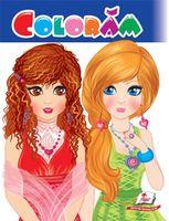 Раскраска Coloram цветная