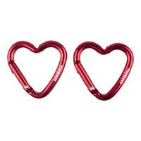 Breloc Munkees Mini Heart Carabiner - 2 Pcs, 3200