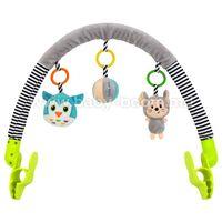 Baby Mix  EF-TE-8544-94 Дуга для коляски мышка и сова