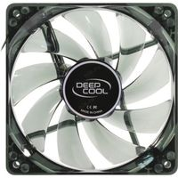 "купить 120mm Case Fan - DEEPCOOL ""WIND BLADE 120 RED"" Fan with 4 red  LED, 120x120x25mm, 1300rpm, <26dBa, 65.16CFM, Hydro Bearing, Black в Кишинёве"