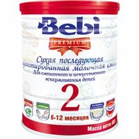Bebi Детская молочная смесь Premium 2 400gr.(6-12)