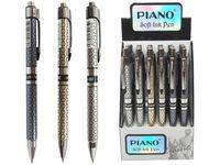 купить Ручка PS-007 soft ink 0.5mm синяя (1/24) серебристая в Кишинёве