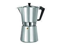 Кофеварка на 14 чашек Ghidini Pezzetti, алюминиевая