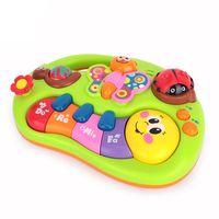 Huile Toys Пианино Веселые Зверята