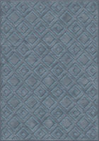 Ecofloor Farashe (514С497220) Geometry Ornament Blue Squares 1.60x2.30m