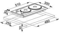 Электрическая панель Franke FHM 302 2E XS