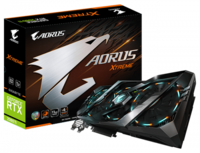 Видеокарта GIGABYTE AORUS GeForce RTX 2080 Ti XTREME 11G (11 ГБ/GDDR6/352 бит)