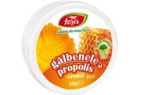 Crema de galbenele si propolis