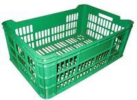 cumpără Ladă din plastic A112, 600x400x250 mm, verde în Chișinău