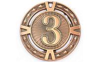 Медаль за 3 место d=6.5 см, 38 гр 6409 (3860)