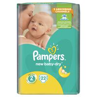 Pampers New Baby RC Mini 2, 22шт., 3-6 кг.