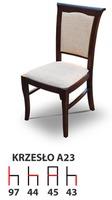 Деревянный стул A23