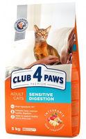 Клуб 4 лапы  для кошек с чувствительным желудком,5кг