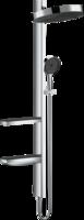 Sistema de  dus hansgrohe  Rainfinity Showerpipe 360 cu montarea ascunsa