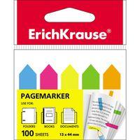 EKRAUSE Закладки самоклеющиеся EKRAUSE 12x44/5 Neon стрелки
