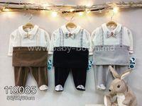 Twetoon Baby  Комплект велюровый 2ед. (штанишки и батник) 118085