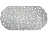 Коврик для ванны 39X99cm Pebbles овал, серый