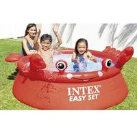 Детский Надувной Бассейн Easy Set КРАБ 183x51cm, 880Л, 2+