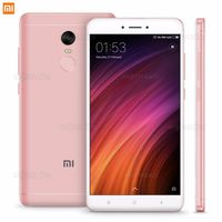 "5.5"" Xiaomi RedMi Note 4X 64GB Pink Gold 4GB RAM,Mediatek MT6797 Helio X20 Deca-core2.1GHz,Mali-T880,DualSIM,5.5"" 1080x1920 IPS 401 ppi, microSD, 13MP/5MP, LED flash, 4100mAh, FM-radio, WiFi-AC, BT4.2, LTE, Android 6.0 (MIUI8), Infrared port, Fingerprint"