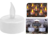 Набор свечей LED чайных 2шт, D3.8cm с таймером