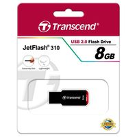 Flash Drive Transcend JetFlash 310 Black 8Gb
