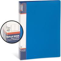 Birotic Express Папка с файлами BIROTIC Express А4, 40 файлов синяя