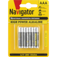 Батарейки серии NBT-NE (Щелочные высокой мощности) AAA