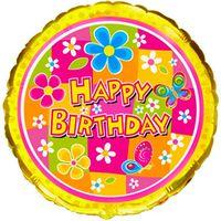 купить Happy Birthday - С Цветочками в Кишинёве