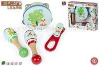 Color Baby  43626 Набор музыкальных инструментов дерево