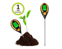 4 в 1 метр рН Tермометр гигрометр люксметр для почвы
