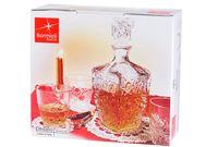 cumpără Set garafa si 6 pahare pentru lichior Dedalo, in cutie de cadou în Chișinău
