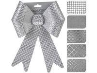 купить Бант декоративный 22X30cm, серебр, 5 фактур в Кишинёве