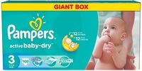 Pampers Active Baby Midi 3 ( 4-9 кг.) 108 шт.