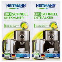 HEITMANN Bio decalcificator cu acţiune rapidă, 2 x 25g