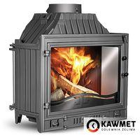 Каминная топка KAWMET W4 14,5 kW с правым боковым стеклом