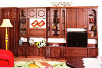 BMF Atos MDF Polish Two Cupboards Cherry