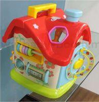 """Baby Mix PL-310544 Обучающая игрушка-сортер """"Домик"""""""