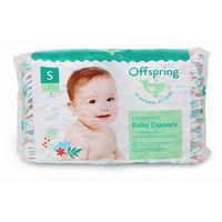 Органические подгузники Offspring S (3-7 kg) 48 шт