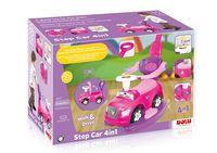 Машинка-каталка 4 в 1, розовая, код 41523