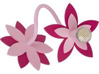 Бра FLOWERS роз 1л 6893