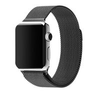 Ремешок Apple Watch,42mm-20mm, Milanese Loop,Tellur Black